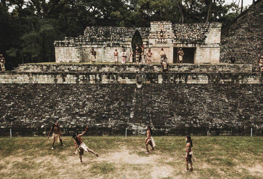 Balspel Copan - meer dan een sport, was het balspel een religieus ritueel.