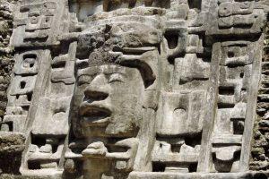 Detail van de Masker Tempel